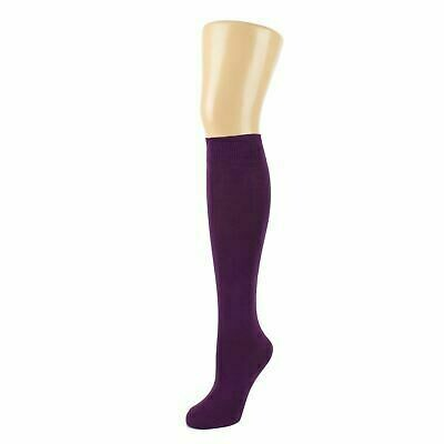Girls Knee High Socks by Pex in Purple (2 Pair Packs) 'Best Seller'