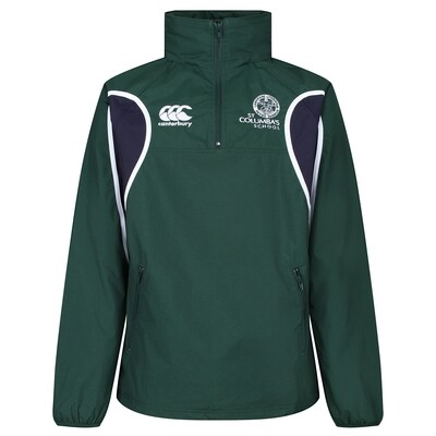 St Columba's School PE Rain Jacket (J4-S6) (Forms the top half of the school tracksuit)