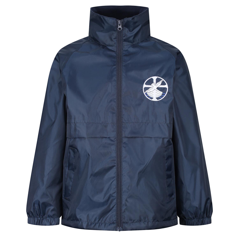 St Columba's Junior School 'Light' Rain Jacket (Early Years-J6)
