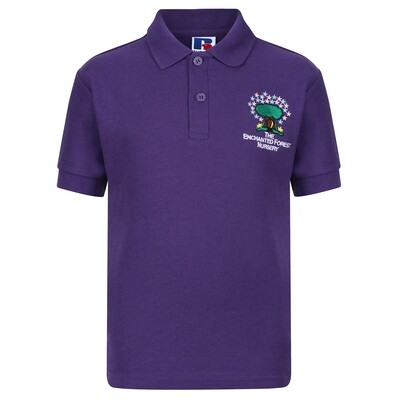 Enchanted Forest Nursery Poloshirt