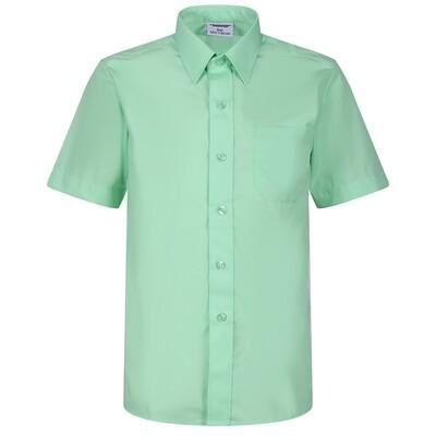 Short Sleeve Shirt for Boys in Green