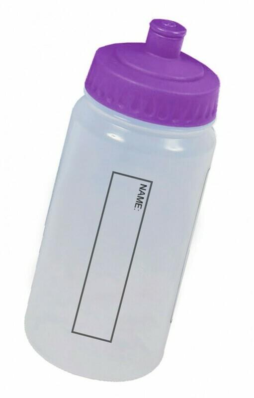 Water Bottle (With Purple Lid) 'Best Seller'