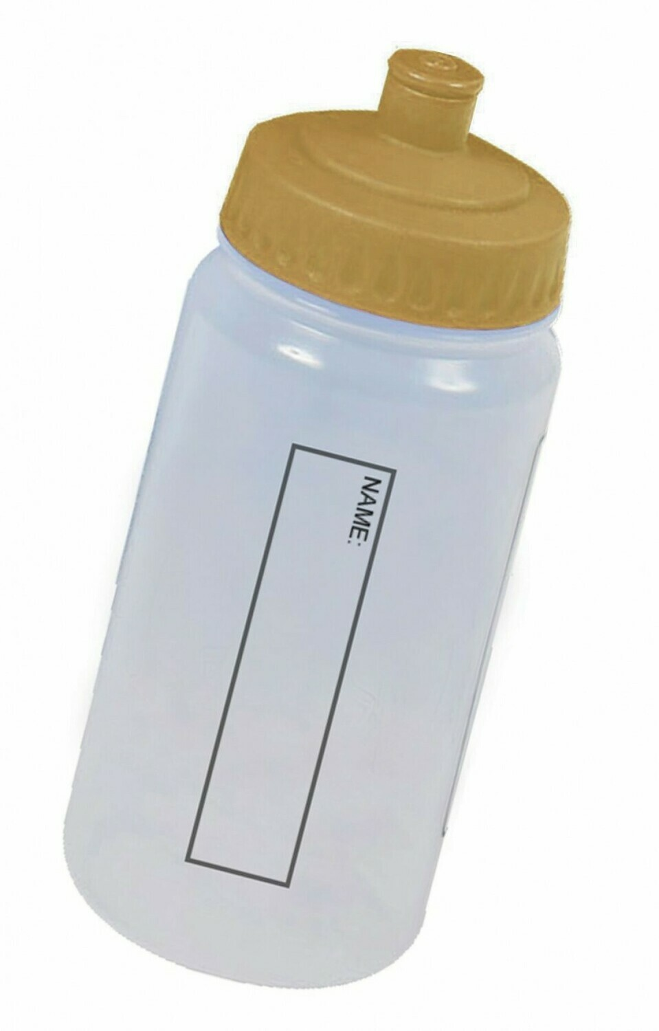 Water Bottle (With Gold Lid) 'Best Seller'