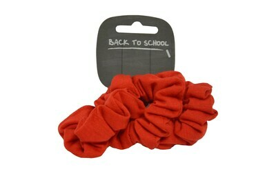 Scrunchies (Pack of 4) (In Red)