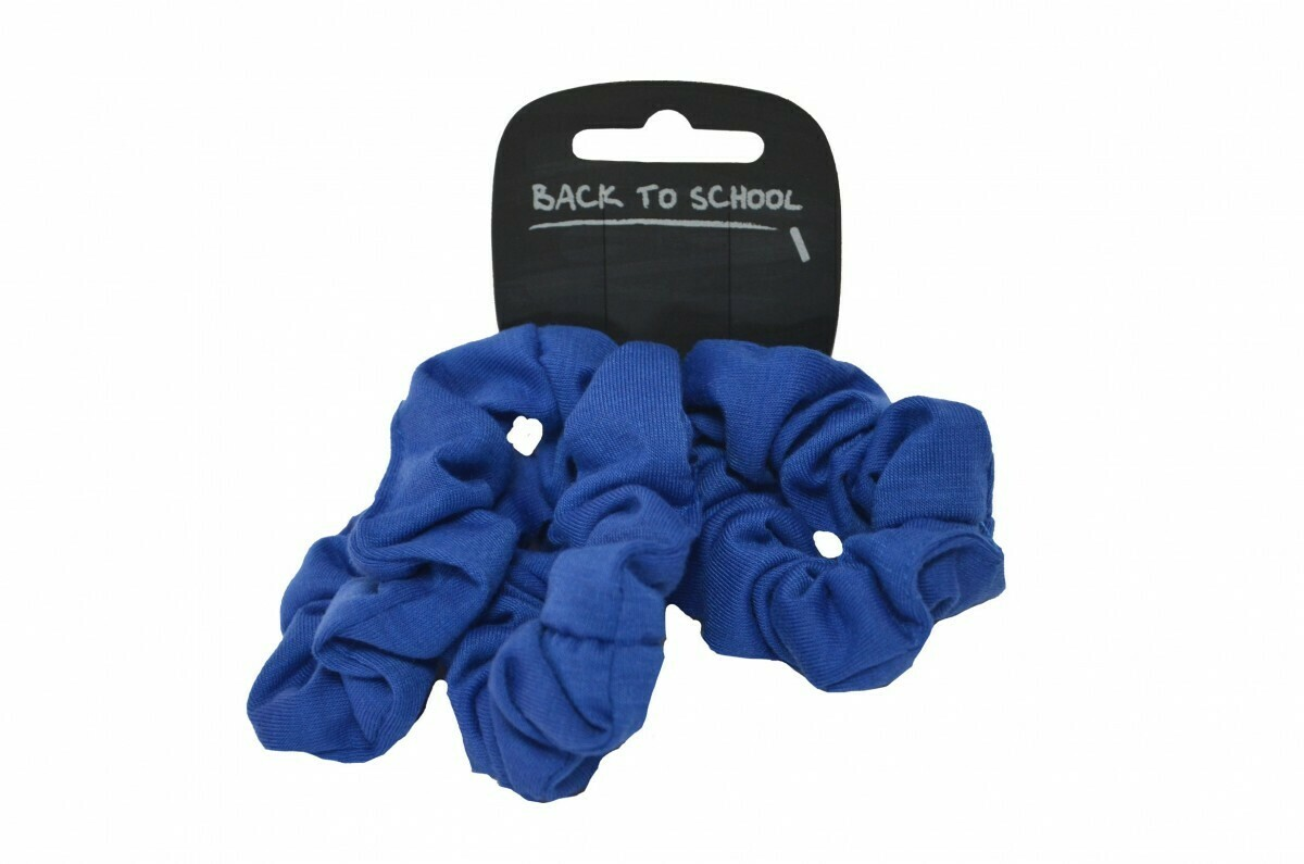 Scrunchies (Pack of 4) (In Royal)