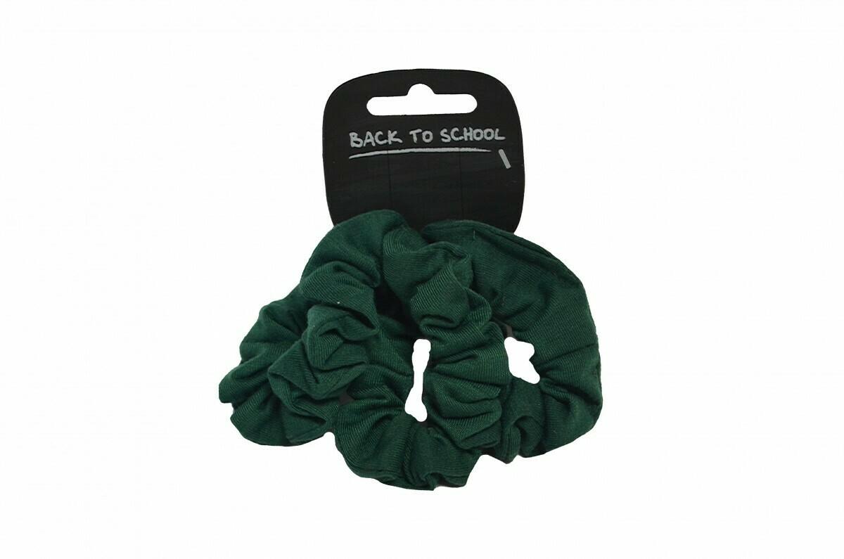 Scrunchies (Pack of 4) (In Bottle Green)