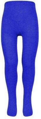 Cotton Tights in Royal (1 Pair Pack)'Best Seller'