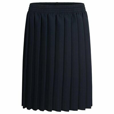 Primary School 'Knife Pleat' Skirt in Navy