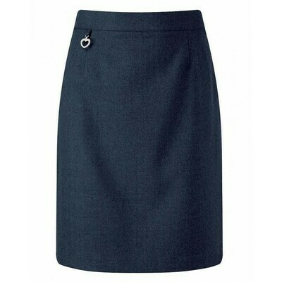 Primary School 'Amber A-Line' Pleated Skirt in Navy (From Age 3-4) 'Online Exclusive'