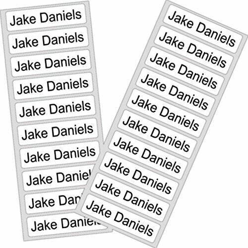Name Tapes (Iron-On in Packs of 30, 50 or 100)