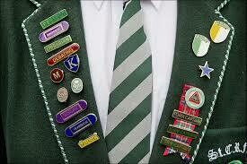 St Columba's Senior School 'Prefects' Blazer Braid'