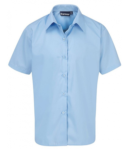 Short Sleeve Shirt for Boys in Blue
