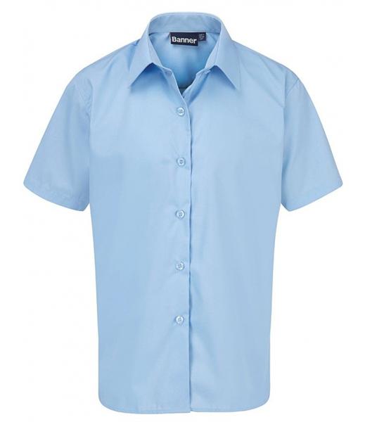 Short Sleeve Shirt for Boys in Blue
