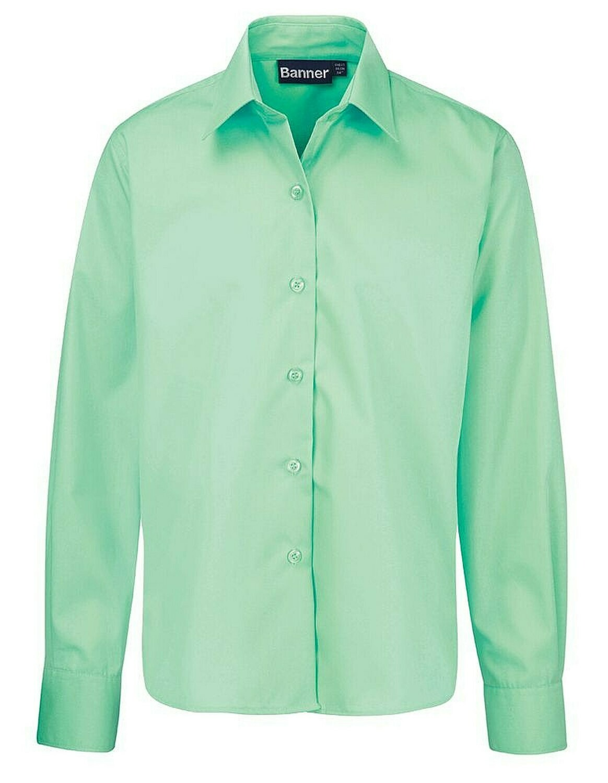 Long Sleeve Blouse for Girls in Green