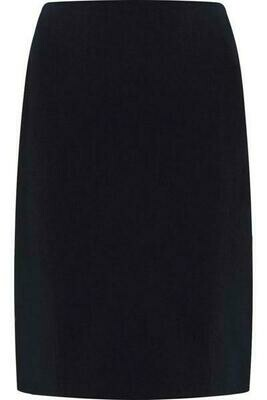 'Honiton' Hipster Stretch Skirt in Navy