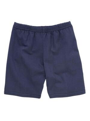Girls PE Short in Navy Blue