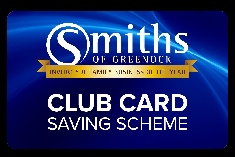 Club Card Saving Scheme