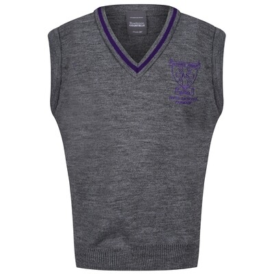 All Saints Primary Knitted Tank Top with stripe