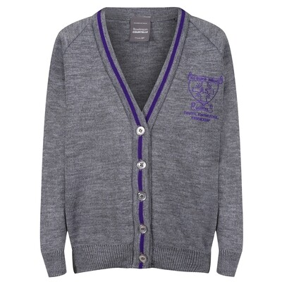 All Saints Primary Knitted Cardigan with stripe