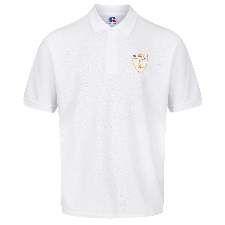 Inverclyde Academy Polo Shirt in White