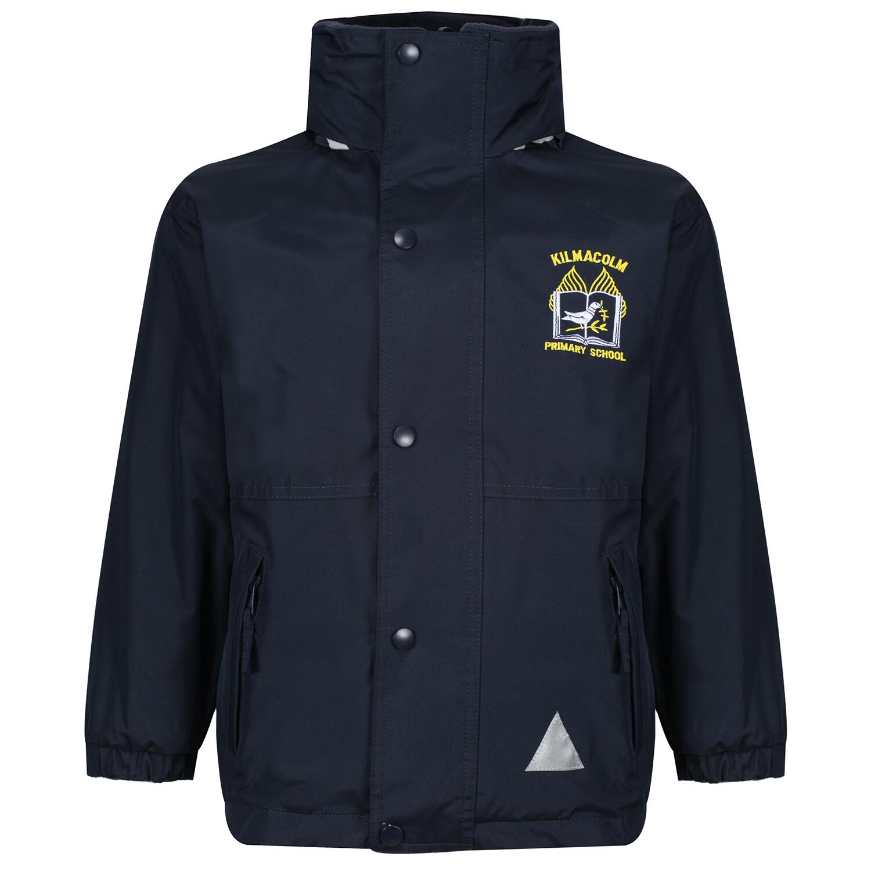 Kilmacolm Primary Heavy Rain Jacket (Fleece lined)