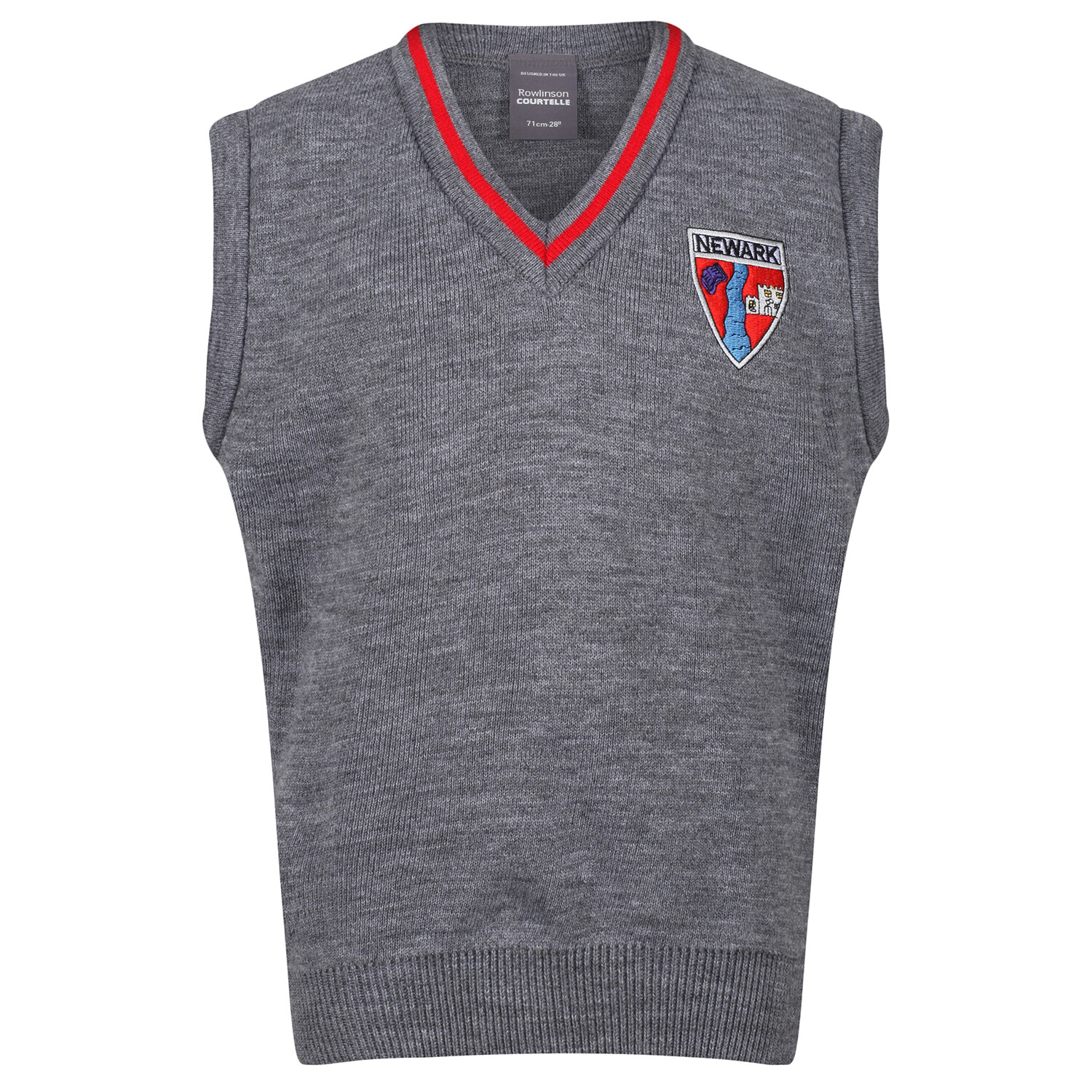 Newark Primary Knitted Tank Top with stripe
