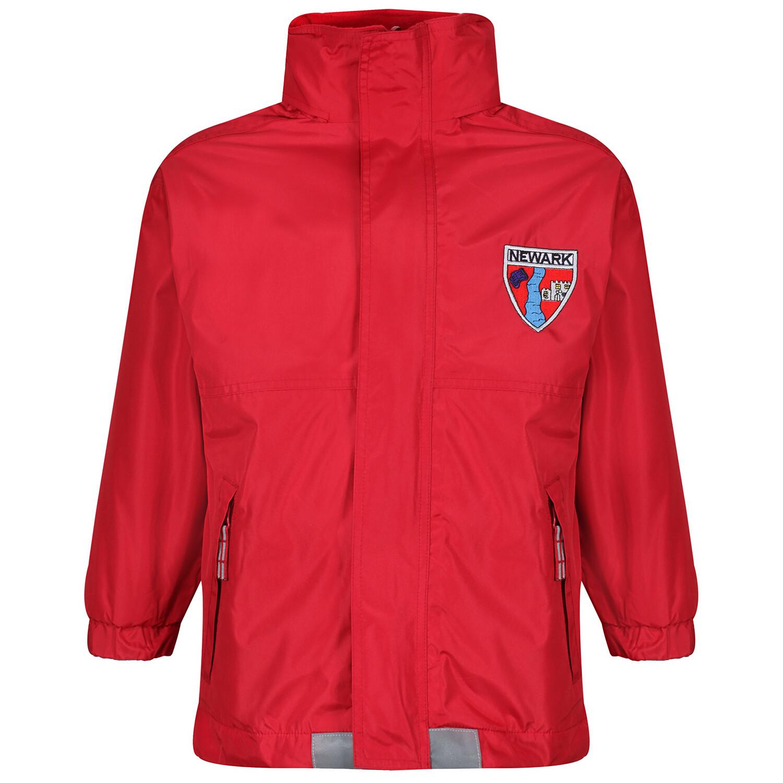 Newark Primary Heavy Rain Jacket (Fleece lined)
