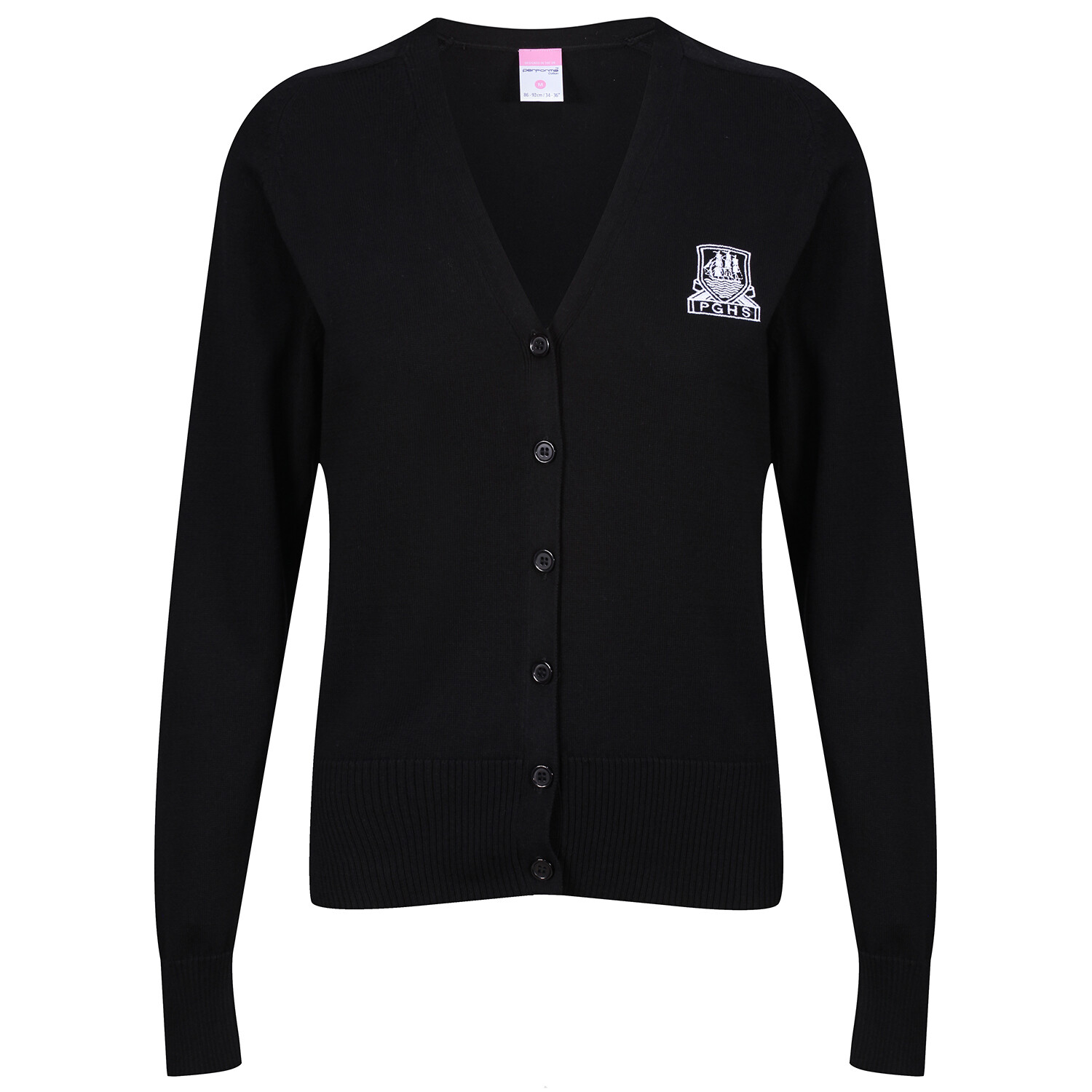 Port Glasgow High Girls Knitted Cardigan