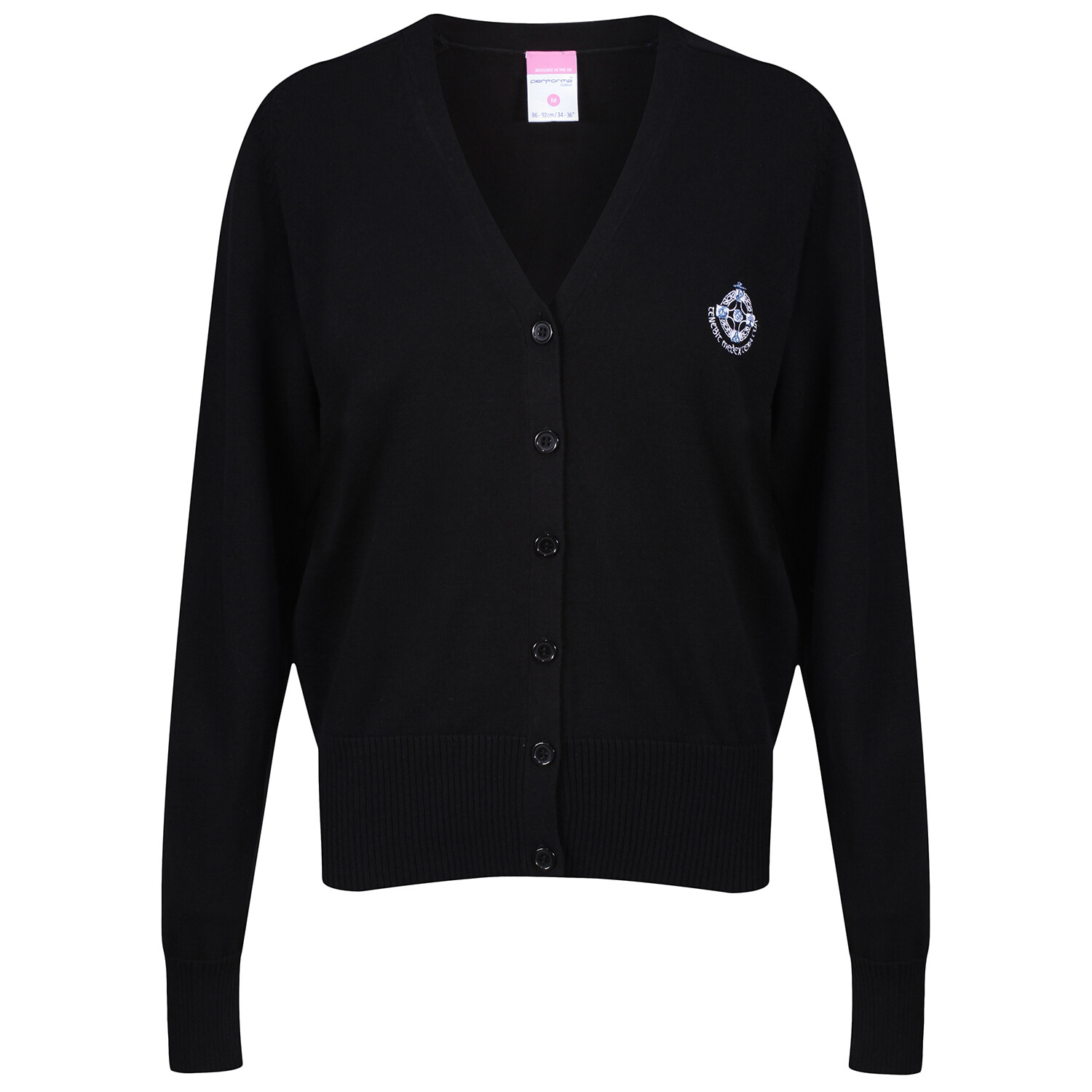 St Columba's High Girls Knitted Cardigan