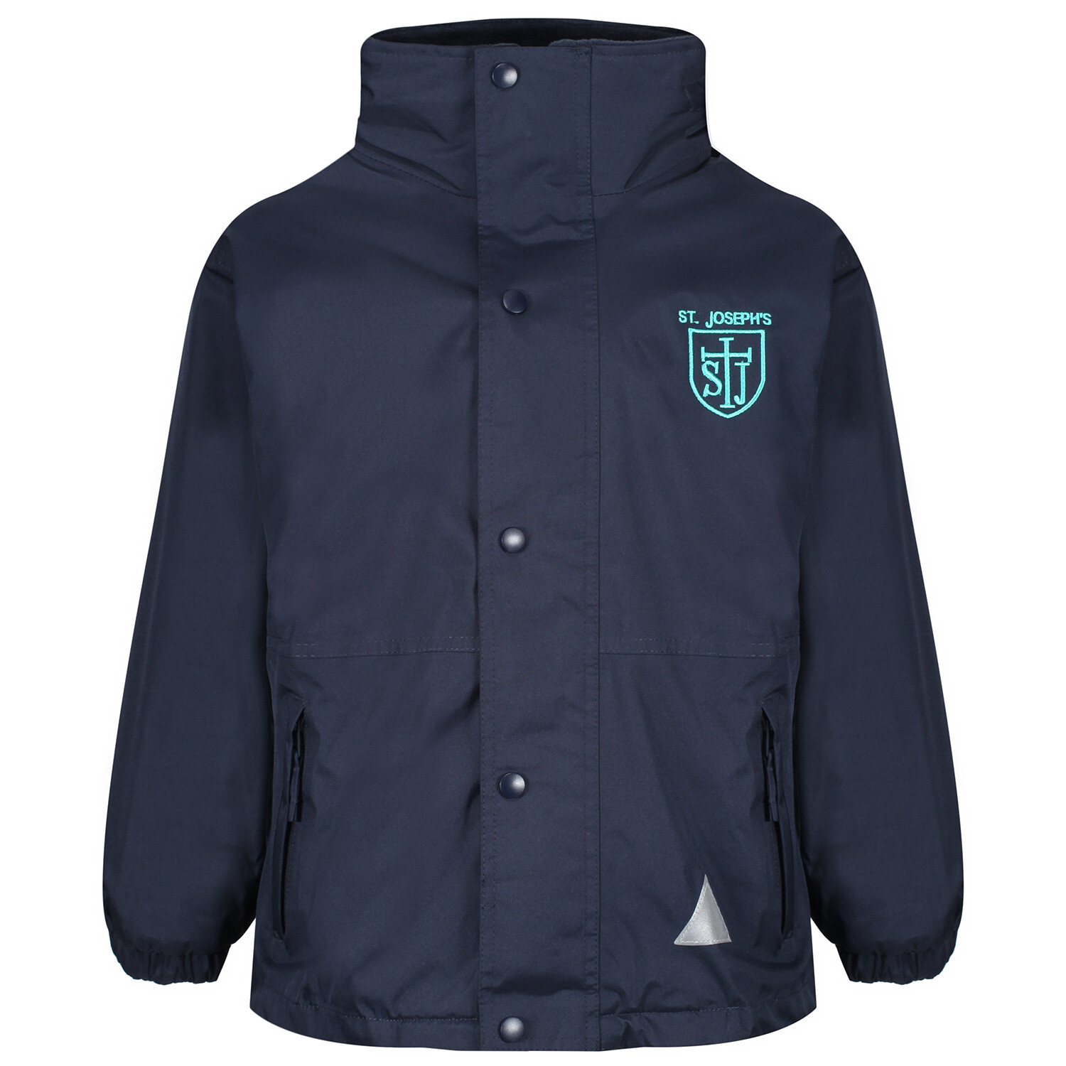 St Joseph's Primary Heavy Rain Jacket (Fleece lined)