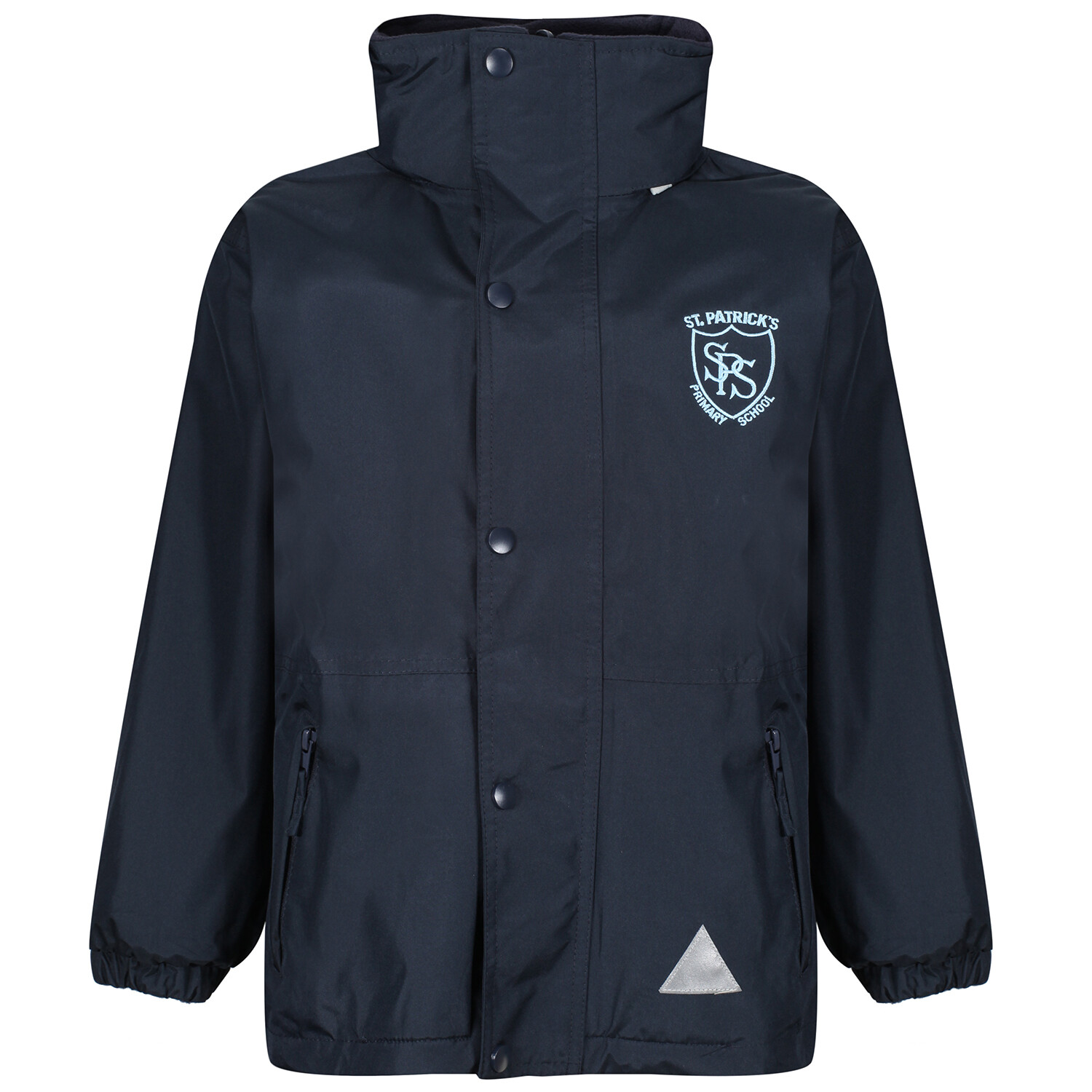 St Patrick's Primary Heavy Rain Jacket (Fleece lined)