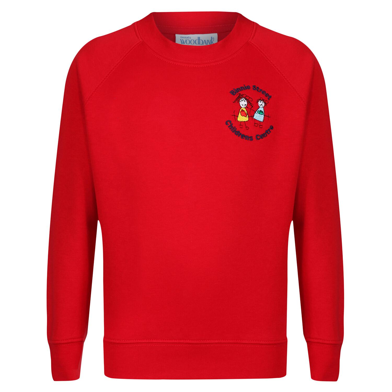 Binnie Street Nursery Sweatshirt (Red or Navy)