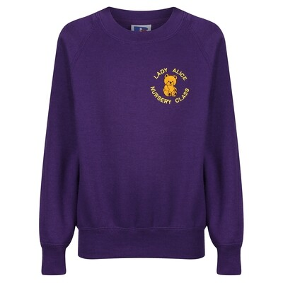 Lady Alice Nursery Sweatshirt (choice of colour)