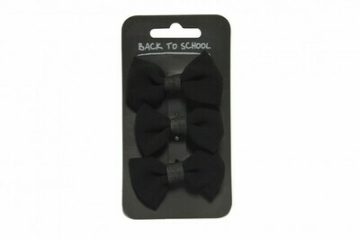 Hair Bows (3 in a pack - choice of colours)