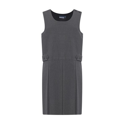 Box Pleat Pinafore (From Age 3-4 in 5 colours)