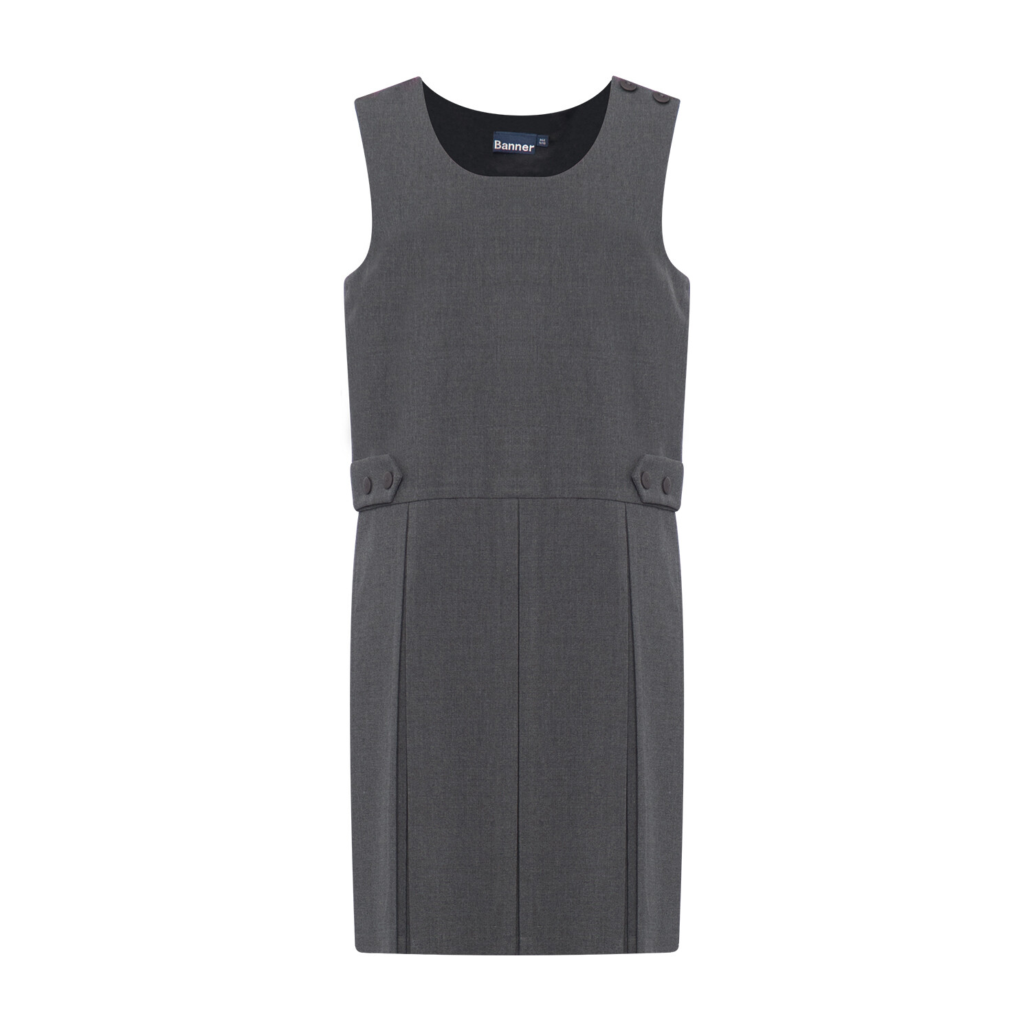 Box Pleat 'Tenby' Pinafore (From Age 3-4 in 4 colours)