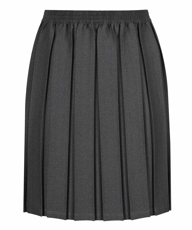 Primary School 'Box Pleat' Skirt (From Age 3-4 in 5 colours)