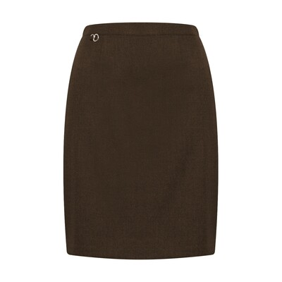 Primary School 'Amber A-Line' Pleated Skirt in Brown (From Age 3-4) 'Online Exclusive'