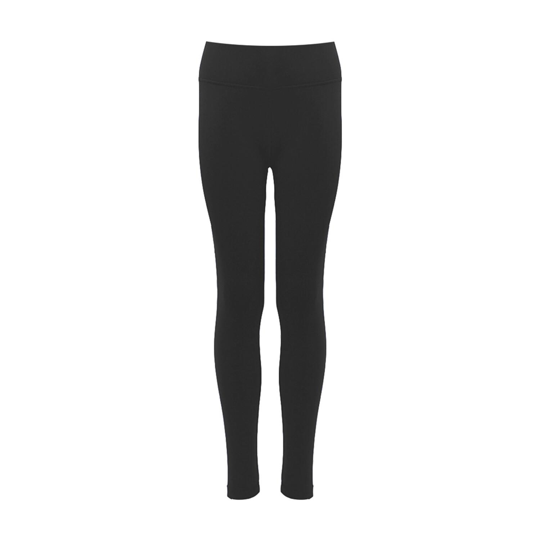 Largs Academy Girls PE Leggings in Black