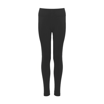 Largs Academy Girls PE Leggings in Black
