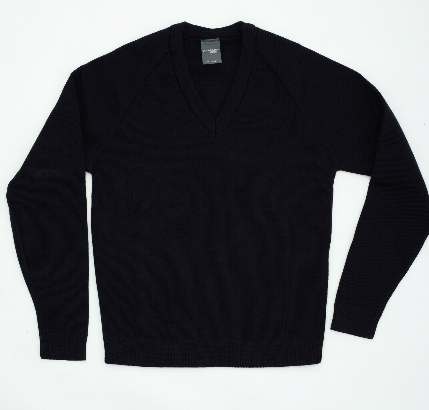 Primary School Knitted Courtelle V-Neck (choice of colours and FREE embroidery option)