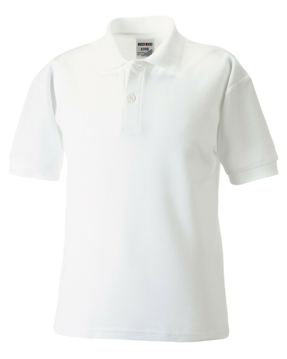 Plain Cotton Polo Shirt (choice of colours)