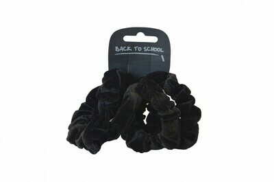 Velvet Scrunchies (Pack of 4 - choice of colours)