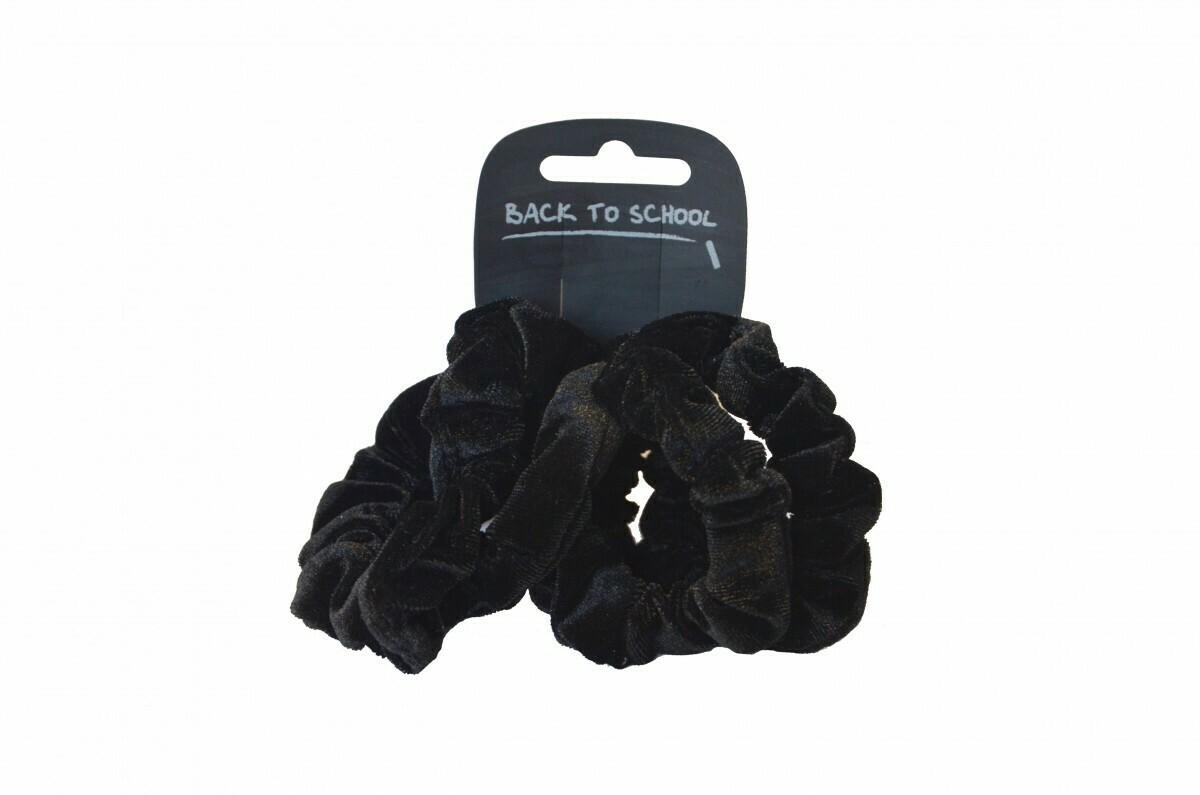 Velvet Scrunchies (Pack of 4 - choice of colours)