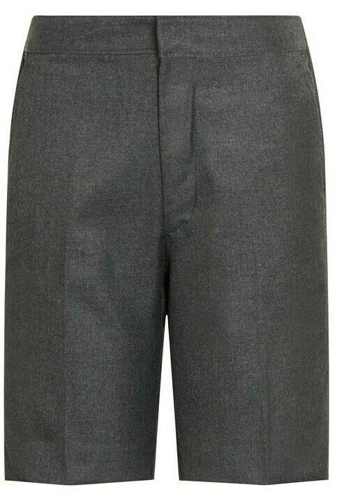 'Bermuda' School Shorts by Trutex (Grey, Navy or Brown) (Age 4-13)