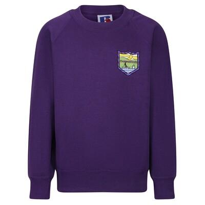 Craigmarloch Primary Sweatshirt (Crew Neck) in Purple