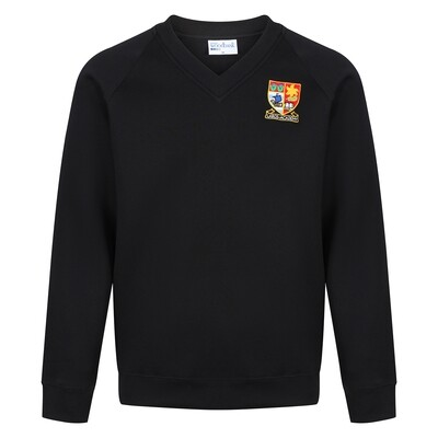 Largs Academy Sweatshirt V-Neck