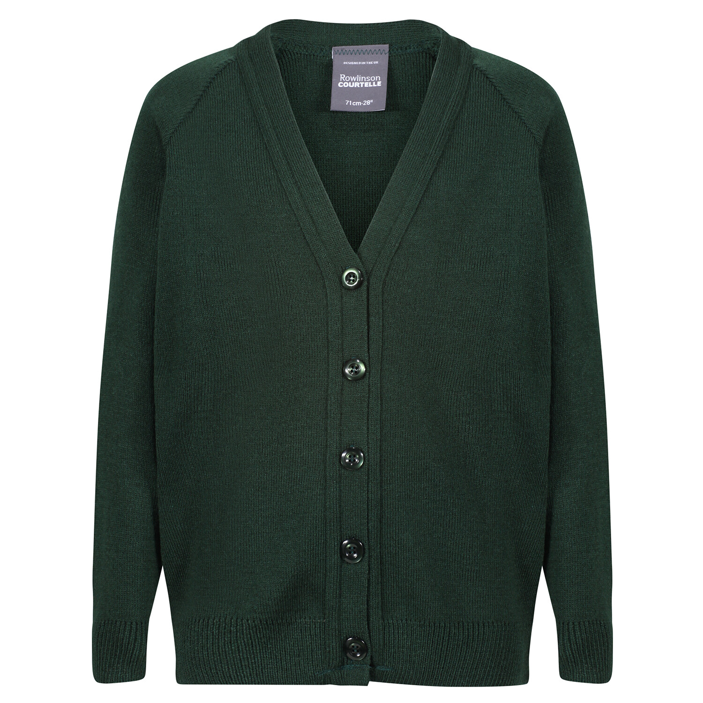 St Columba's School Girls Plain Knitted Cardigan (J1-Transitus)
