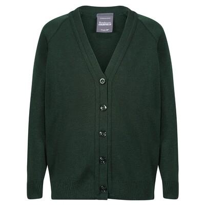 St Columba's School Girls Knitted Cardigan (J1-Transitus)
