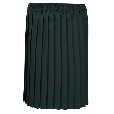 Primary School 'Knife Pleat' Skirt in Bottle Green (From Age 3-4)